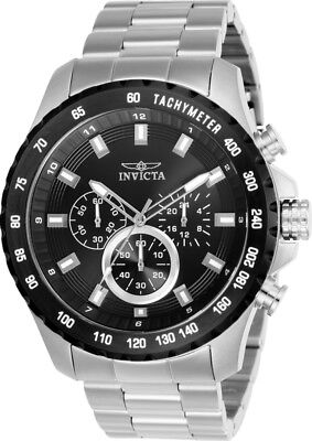 Invicta 24210 Men's Speedway Chronograph 48mm Black Dial Watch