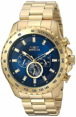 Invicta 24213 Men's Speedway Chronograph 48mm Blue Dial Watch