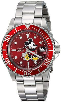 Invicta 24759 Men's Disney Limited Edition 40mm Automatic Red Dial Watch