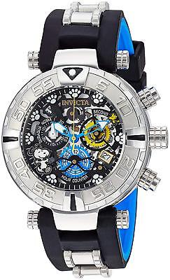 Invicta 24811 Men's Character Collection Chronograph 47mm Black Dial Watch