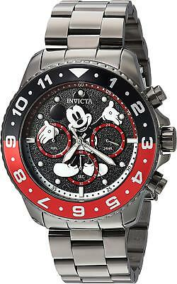 Invicta 24956 Men's Disney Limited Edition Chronograph 44mm Black Dial Watch