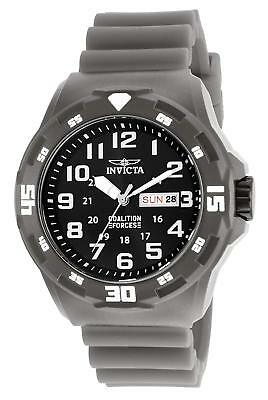 Invicta 25325 Men's Coalition Forces 45mm Black Dial Watch