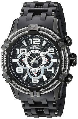 Invicta 25559 Bolt Men's 51mm Black Stainless Steel Black Dial Watch
