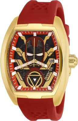 Invicta 26929 Marvel Ironman Men's 42mm Stainless Steel Gold-Tone Automatic