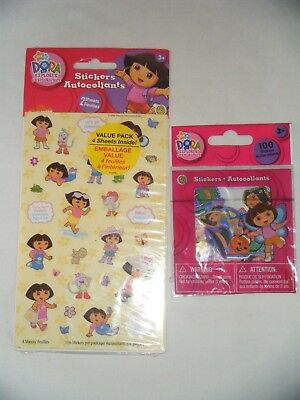 Dora The Explorer Stickers Lot - 2 Packages