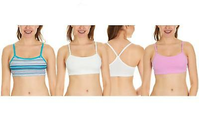 3 Pack of Fruit of The Loom Women's Cotton Sports Bras