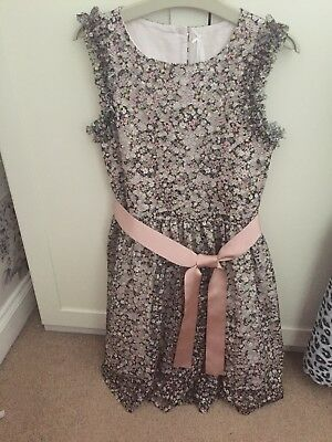 NEXT Girls Floral Special Occasion Dress Age 10 Bnwot