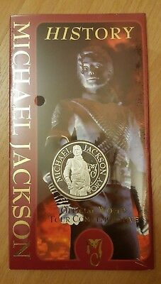 Michael Jackson Official History World Tour Commemorative Coin - Silver (1996)