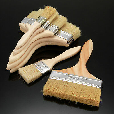 Wide Paint Wall Brush Wooden Handle - Decorating Painting Painters Home