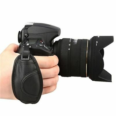 New Camera Hand Wrist Grip Strap for SLR DSLR Canon Nikon PEOS Sony Pentax black