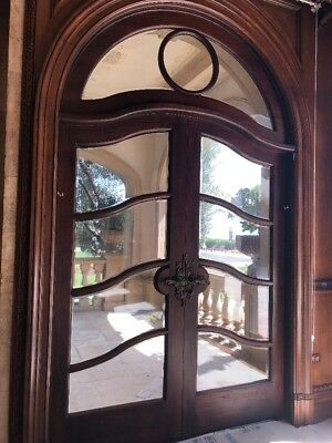 Arched French Doors  71 X 90