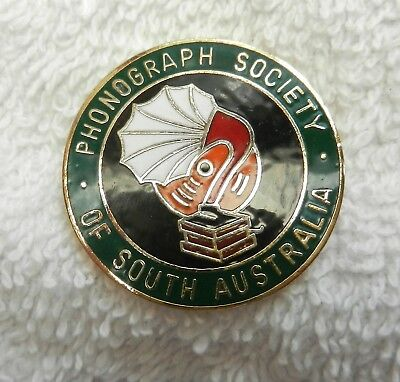 Phonographic Society Of South Australia Badge