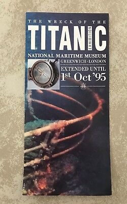 """National Maritime Museum """"the Wreck Of The Titanic"""" Exhibition In Greenwich, Lon"""