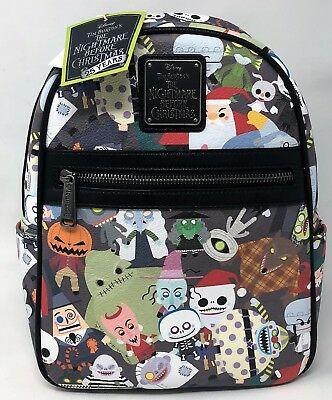 Loungefly - Disney  - 25TH NIGHTMARE BEFORE CHRISTMAS CHARACTER MINI BACKPACK
