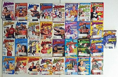 Disney Adventures Magazines – 33 Issues from 1992, 1993, 1994 and 1995