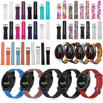 Replacement Sports Silicone Wrist Watch Band Strap For Garmin Vivoactive 3