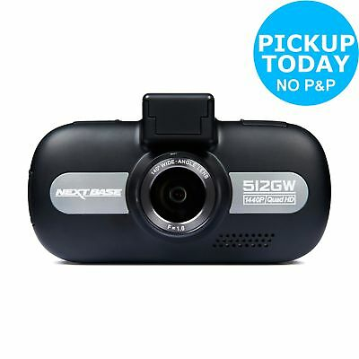 Nextbase 512GW 1440p Quad HD GPS G-Force Sensor Night Vision WiFi Dash Cam