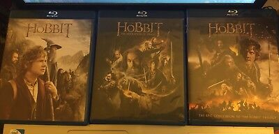 The Hobbit Trilogy Blu-ray/DVD Combo 3 Movies Collection