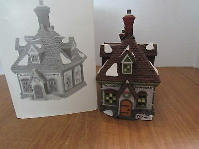 Dept. 56 Dickens Village WM. Wheat Cakes & Puddings #5808-4 Nice Take A Look!