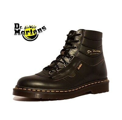 706c1fa8069 DR MARTENS KAMIN 16707001 Black Genuine Leather Walking Hiking Boots Mens