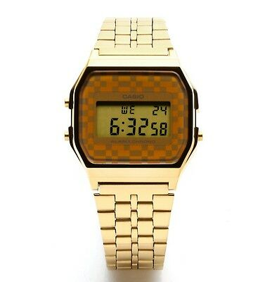 Casio A159WGEA-9ADF  Stainless Steel Gold Digital Chronograph Men's Watch