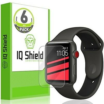6 Pack Full Cover HD Clear iWatch Screen Protector Film For 42mm Apple Watch 3