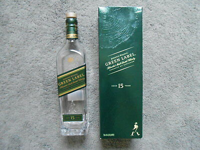 Johnnie Walker Green Label Blended Scotch Whisky Bottle & Box 750ml