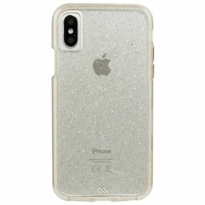 68c353431 NEW Case Mate iPhone X Case - NAKED TOUGH Sheer Glam Sparkle Effect -  Protective
