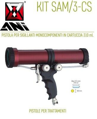 Ani Kit/Sam/3-Cs 11/A Pistola Per Sigillanti Monocomponenti In Cartuccia Ml.310