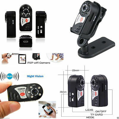 Mini Telecamera Wifi Q7 Hd Ip Spy Motion Detect Micro Camera Sistema Ios Android