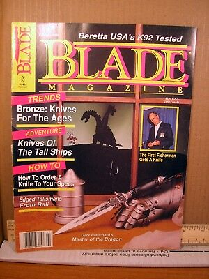 Blade Magazine February 1990 Bronze: Knives for the Ages