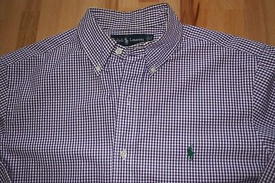 a11a582a72819c POLO RALPH LAUREN Classic Rugby Custom Fit Shirt Navy Size Large ...