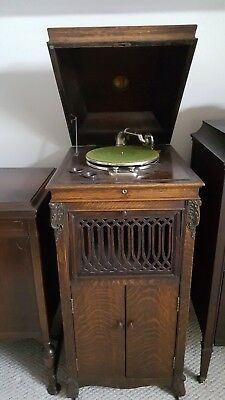 Antique phonograph record player - Kimball