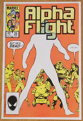 Alpha Flight 25 Aug 1985 Marvel Comics NM-