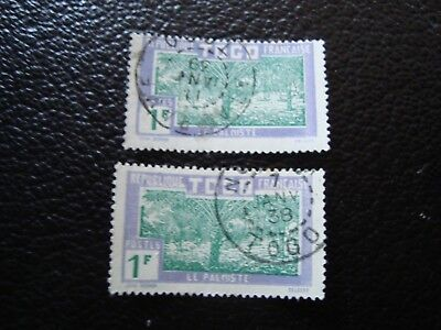 TOGO - stamp yvert/tellier n° 156 x2 cancelled (A15)