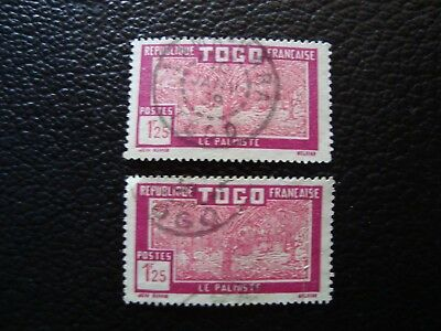 TOGO - stamp yvert/tellier n° 158 x2 cancelled (A15)