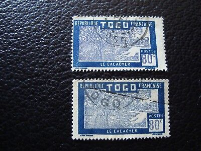 TOGO - stamp yvert/tellier n° 155 x2 cancelled (A15) (A)