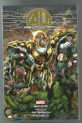 NEW! MARVEL COMICS TPB AVENGERS AGE OF ULTRON 2015 graphic novel BENDIS HITCH