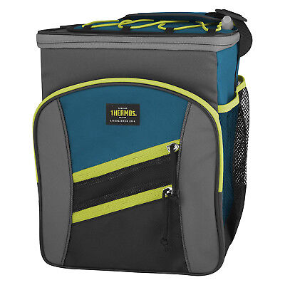 THERMOS Highland Insulated 12 Can Cooler Lunch Kit with LDPE Liner Teal!