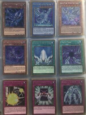 yugioh dark side of dimensions movie pack 57/57 card complete set 1st Ed Booster