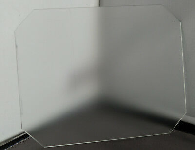 Ground Glass Focusing Screen for 4x5 Large Format Camera (cut corners) [Reduced]