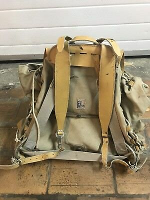 Vintage Sac Style Lafuma Military Bag Made In France