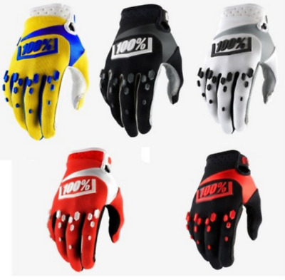 Cycling Gloves 100 Percent Full Finger Mountain Bike Bicycle BMX Downhill  2018 e328221df