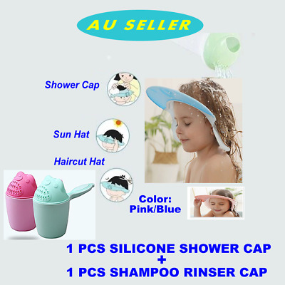 Soft-Silicone-Baby-Adjustable-Shampoo-Shower-Bathing-Protect-Cap-Hat