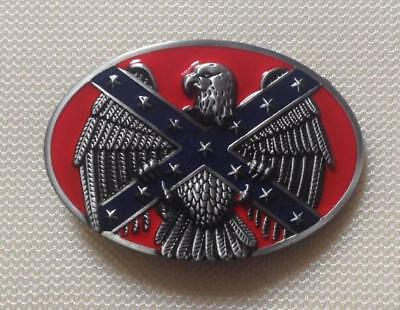 The Confederate States of America Unique belt buckle American Eagle