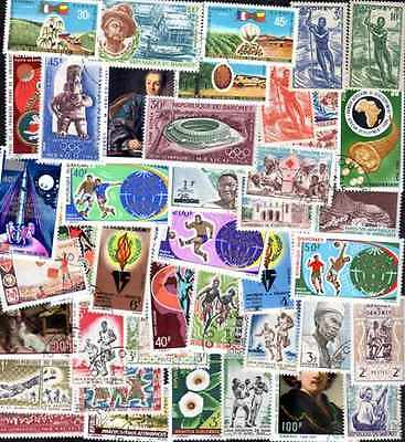 Dahomey 200 stamps different