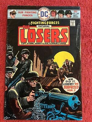 Our Fighting Forces (1954) 160 DC Lot of 1 1975 Jack Kirby Joe Kubert Royer