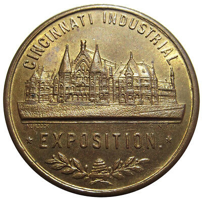 1928 Cincinnati Industrial Exposition Medal - Ohio Token, Fair/Expo, Jas Murdock
