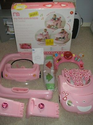 d6179ac29 MOTHERCARE MY FIRST Convertible 3 in 1 Car Walker - £15.00