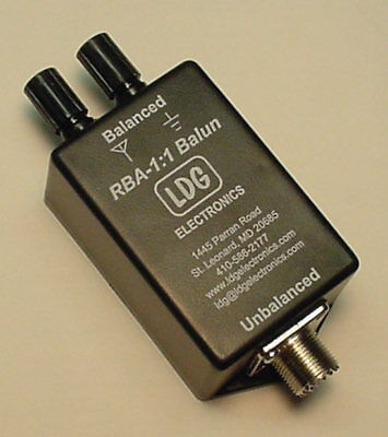 Ldg Electronics Rba11 Remote 1:1 Balun Assembled Current Type